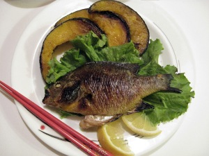Shioyaki Salt Grilled Bluegill