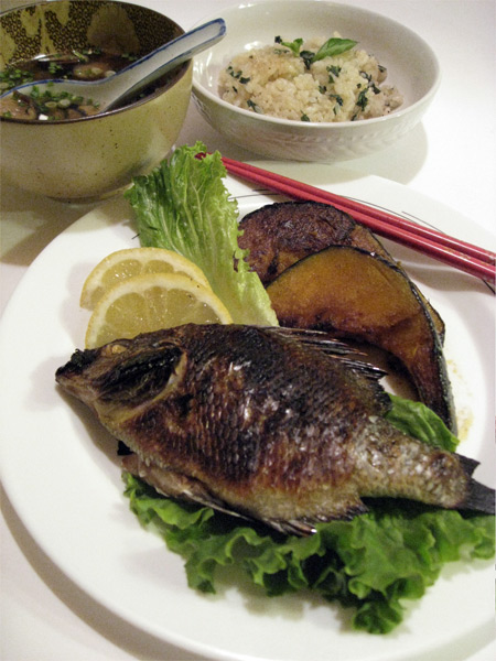 Japanese grilled fish for Bluesalt fish grill