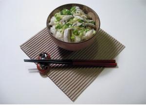 Iwashi Gohan Sardines with Rice
