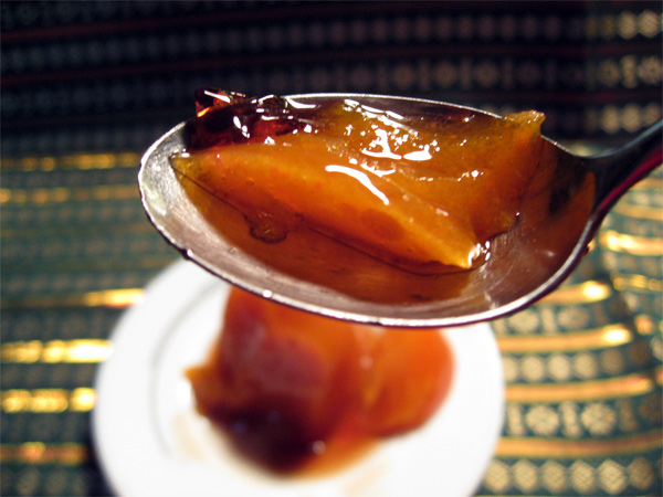 Japanese Persimmon Dessert