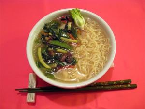 Ramen with Stir-Fried Vegetables