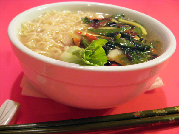 Ramen with Stir-Fried Vegetables