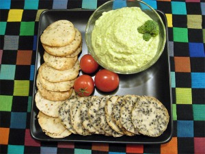 Home-Made Rice Crackers