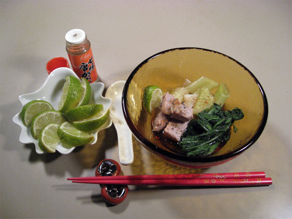 Neginma-nabe: Tuna and Leek Hot Pot
