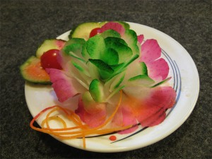 Chinese Cut Radish Flower