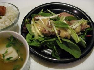 Duck with Miso-Mustard Sauce