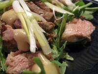 Duck with Miso Mustard Dressing
