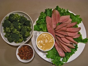 Duck with Miso-Mustard Dressing