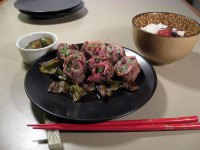 Japanese Rolled Beef with Vegetables