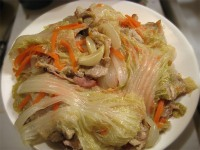 Japanese Braised Pork and Chinese Cabbage