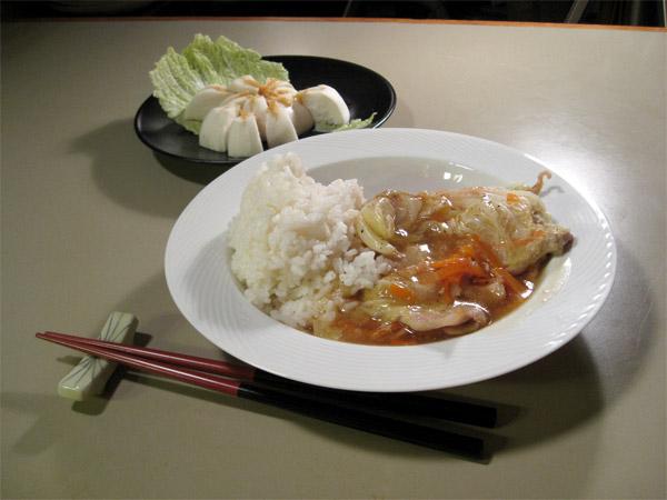 Butaniku to Hakusai no Kasane-ni