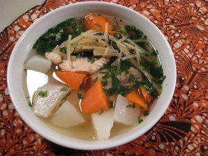 Senba Jiru Japanese Fishermen's Soup