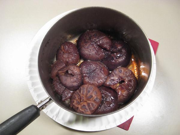 Simmered Shiitake Mushrooms