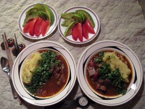Gyutan Stew Japanese Beef Tongue Stew