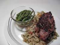 Miso Marinated Lamb Chops