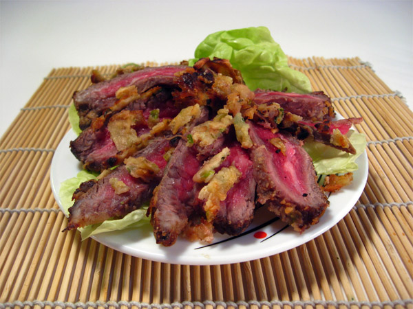 how to cut flank steak in strips