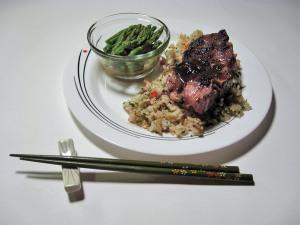 Miso Marinated Lamb Chops
