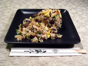Stir Fried Rice and Kikurage