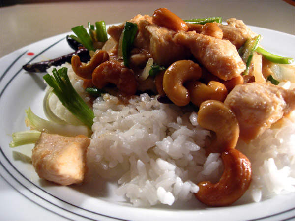 Chicken, Cashews, and Miso Stir Fry 1tess
