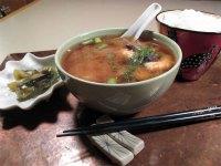 Simple Salmon Miso Soup