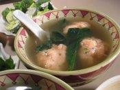 Japanese shrimp dumplings