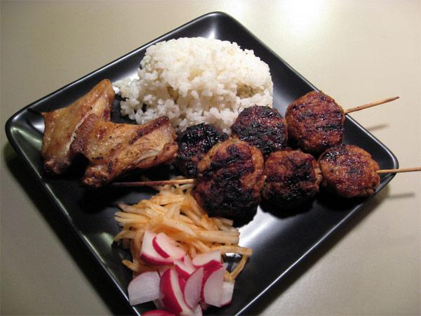 Yakitori Recipe (Grilled Chicken Meat Balls) Recipes — Dishmaps
