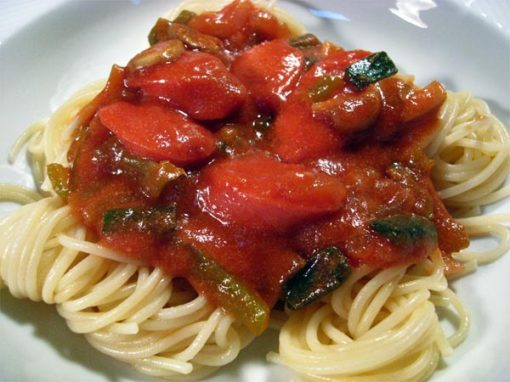 Spaghetti Napolitan « Tess's Japanese Kitchen