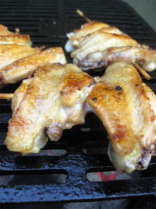 Tebasaki Grilled Chicken Wings | Tess's Japanese Kitchen