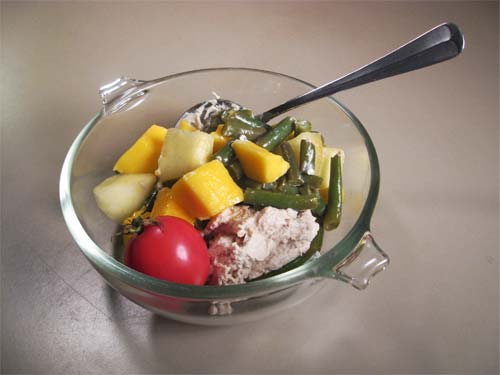 ae white salad is a traditional japanese salad dressing in which tofu ...