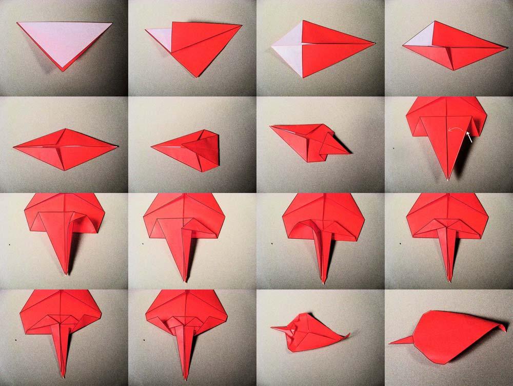 Origami Leaf 1 | Tess's Japanese Kitchen
