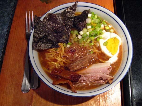Miso Ramen: a night for a fire | Tess's Japanese Kitchen