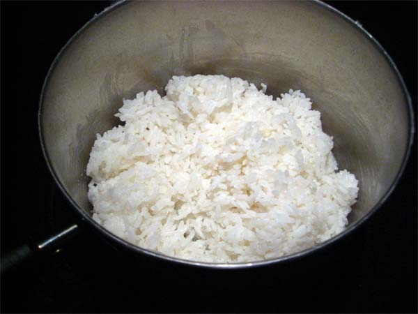 how to cook rice on an electric stove