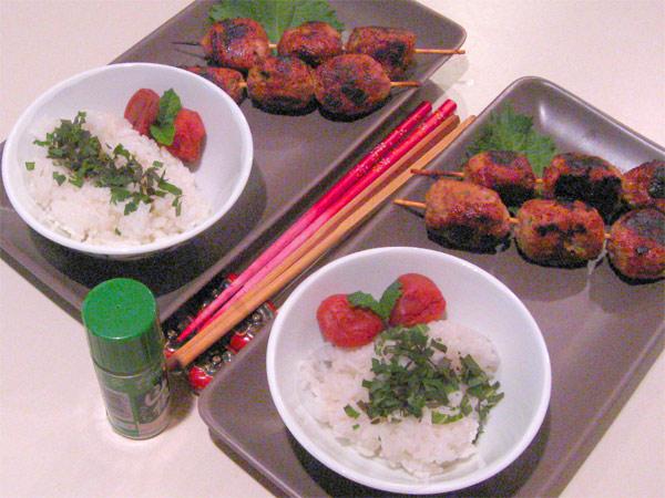 Yakitori Meatballs: Tori no Tsukune   Tess's Japanese Kitchen