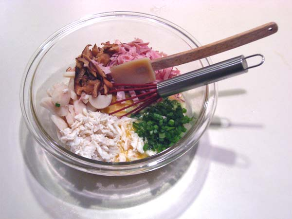 Crabby Eggs and Ham | Tess's Japanese Kitchen