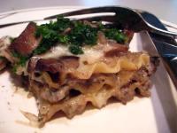 mushroom lasagne recipe 2012