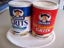 grits in their box