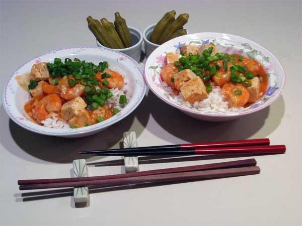 Ebi Chili, Ebi Chirri, Shrimp in Chili Sauce | Tess's Japanese Kitchen