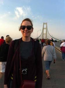 Walking the Mackinaw Bridge 2012