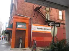 first look at Nom Nom Ramen restaurant