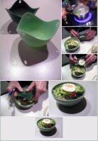 poaching an egg