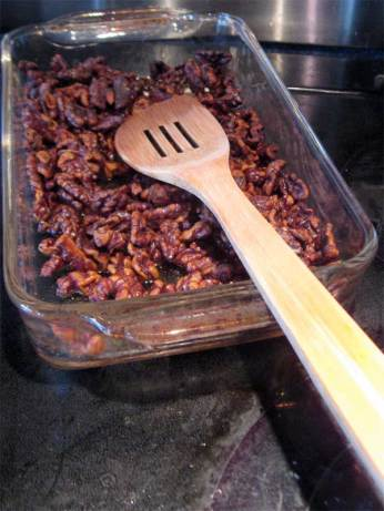 toasted walnuts