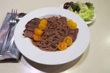 Japanese style braised brisket