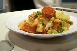 Japanese Shrimp and Chorizo Rice Recipe