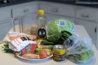 ingredients for tofu daisy dumplings